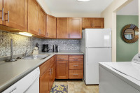 Short term furnished apartment kitchen in Wilkes-Barre PA
