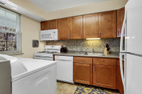 Short term apartment kitchen in Wilkes-Barre PA